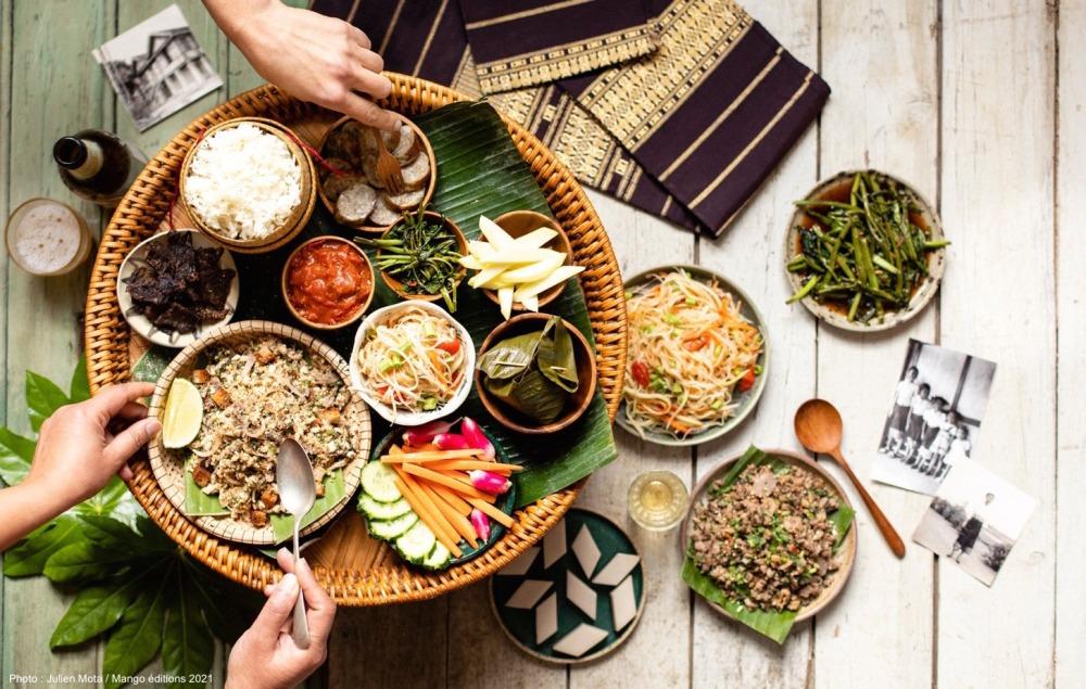 easy laos plateau repas
