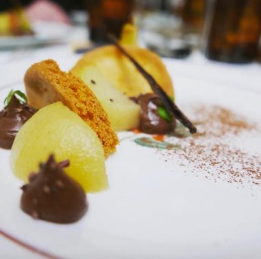 dessert-poire-chef-domicile-saint-malo