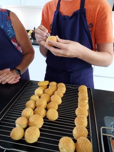 cours de cuisine l'atelier savoureux pâte à choux